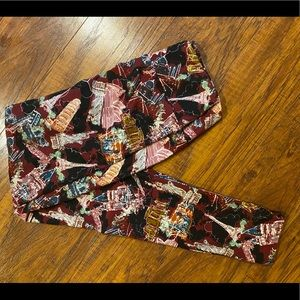 Lularoe OS leggings travel